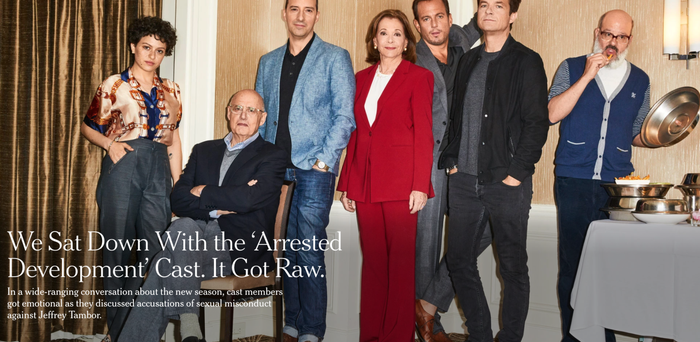 It was announced earlier this month that Tambor will reprise his role as George Sr in the revived Arrested Development season. Tambor left the Amazon show Transparent after another cast member made sexual harassment allegations against him, which Tambor denies. Tambor has also been accused of verbally harassing Jessica Walter, who plays Lucille Bluth, on the set of Arrested Development.
