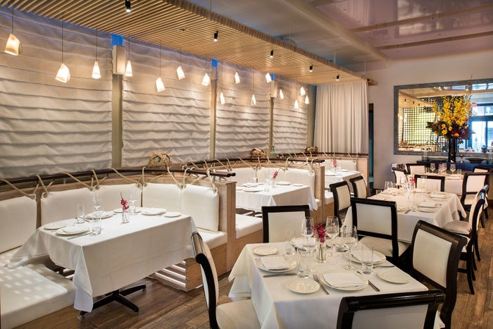 An inviting Mediterranean restaurant with authentic touches, Neria brings the coastal feel of Greece blended with chic urban feel to the heart of NYC. The elegant, multi-level restaurant welcomes diners - whether visiting the restaurant for a business meeting or for a date. Coupled with impeccable hospitality and service, Nerai tops as one of the finest restaurant in NYC.