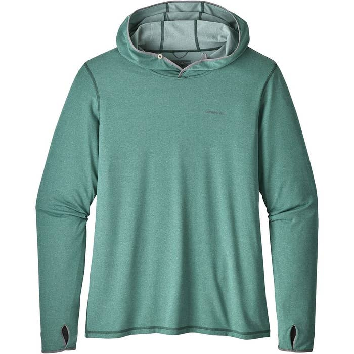 68566ed6 A versatile hooded shirt that just may keep dad cooler than a wet T-shirt  on a hot day – meet his new favorite base-layer.