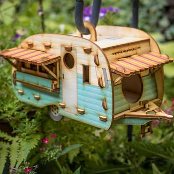 different style of birdhouse