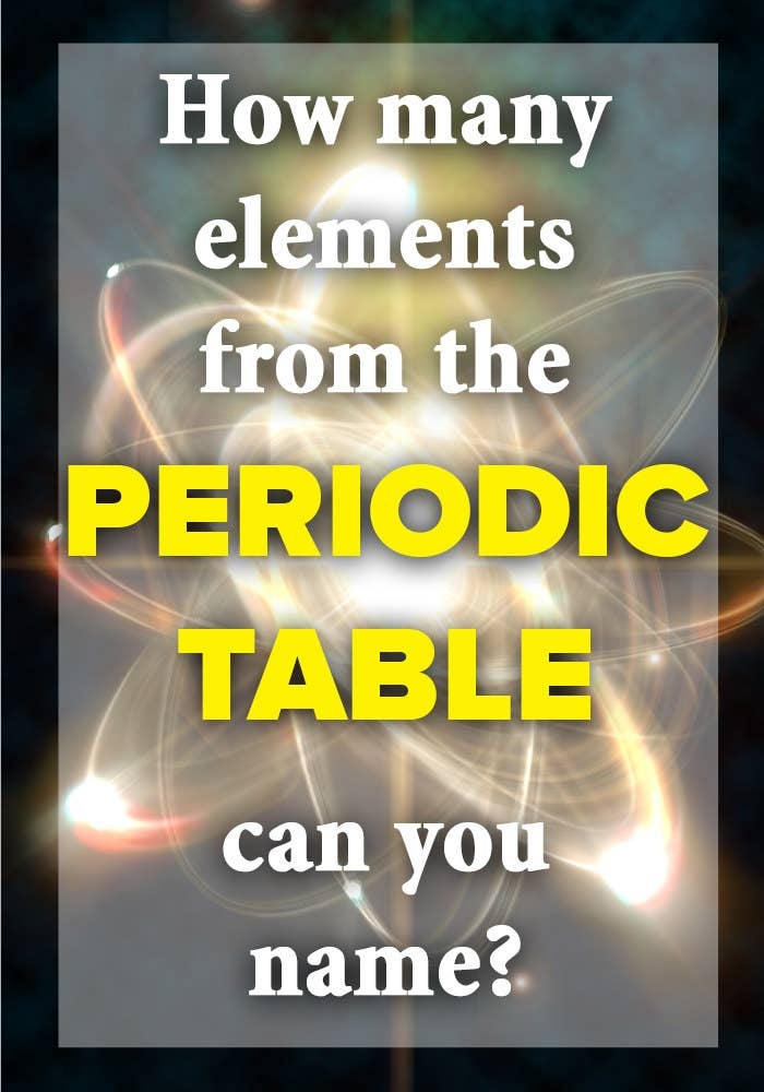 How many elements from the periodic table can you name share on facebook share urtaz Gallery