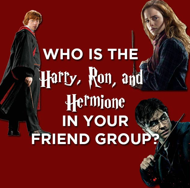 This Very Specific Quiz Will Tell You Who's The Harry, Ron
