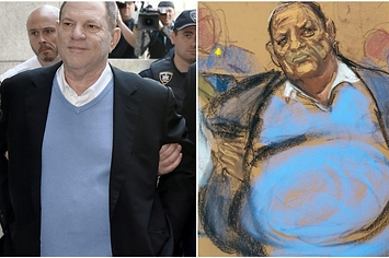 Hoo Boy, These Courtroom Sketches Of Harvey Weinstein Are Really Something
