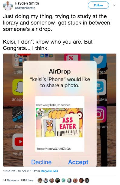 13 People Who Abused The Shit Out Of The iPhone's AirDrop