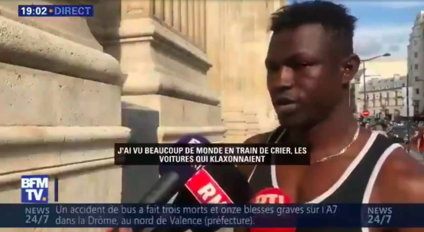 """Watch This Real-Life """"Spiderman"""" Climb A Building In Paris And Save A Dangling Child"""