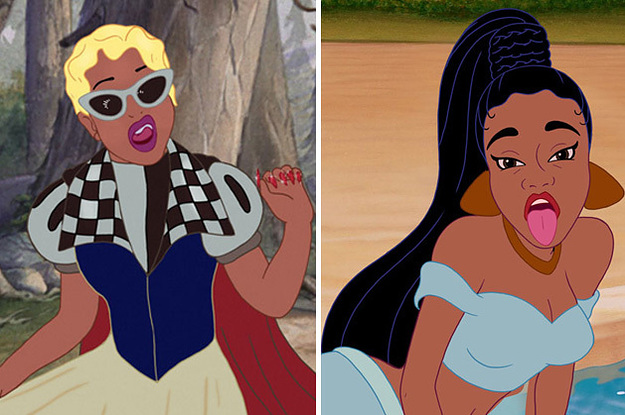 This Is What Cardi B Would Look Like As A Disney Princess