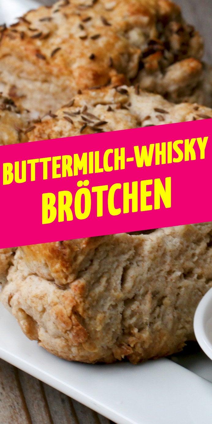 8 SconesZUTATENScones100 ml irischer Whiskey75 g Sultaninen250 g Mehl95 g Vollkornmehl3 Esslöffel Granulatzucker1 1/2 Teelöffel Backpulver1/2 Teelöffel Backnatron, knapp1 1/4 Teelöffel feines Meersalz8 Esslöffel ungesalzene Butter, kalt, in 1 cm Würfel geschnitten180 ml Buttermilch und mehr zum Bepinseln2 Teelöffel Kümmelsamen, aufgeteilt Blättriges Meersalz, zum BestreuenWhiskeybutter4 Esslöffel ungesalzene Butter, Raumtemperatur1 Esslöffel irischer Whiskey, Rest vom Einweichen der Sultaninen1 Teelöffel blättriges Meersalz