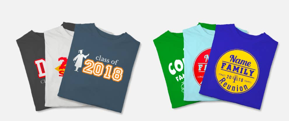 11 Of The Best Places To Order Custom T-Shirts Online