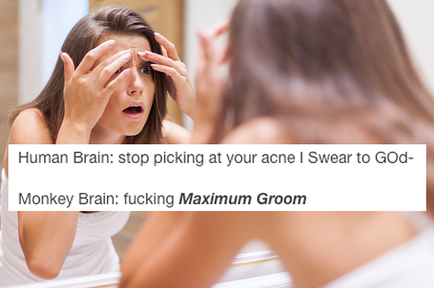 22 Tumblr Jokes You'll Get If You Have A Complicated Relationship With Your Skin
