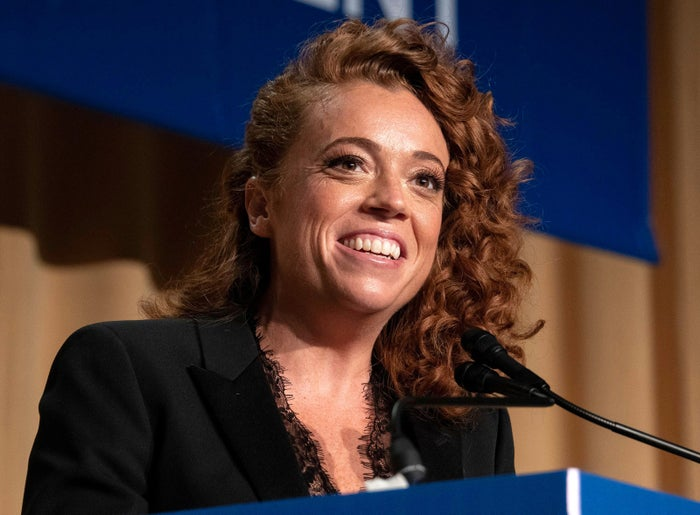 Michelle Wolf provides the entertainment at the White House Correspondents' Association Dinner on April 28 in Washington, DC.