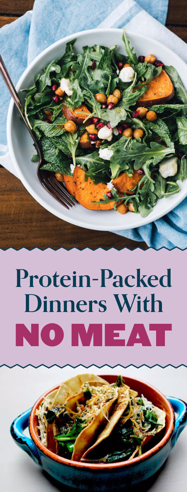 17 High-Protein Meatless Dinners You Need In Your Life Right Now