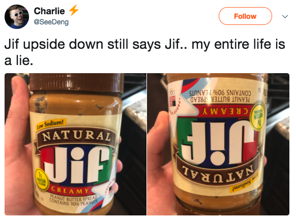 Jif's incredible secret: