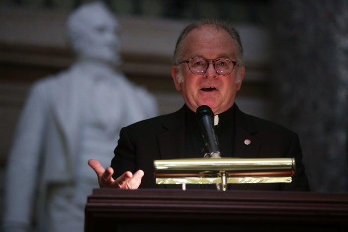 House Chaplain Rev. Patrick J. Conroy.
