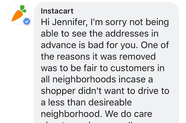 Instacart Won't Roll Out An App Update Shoppers Said Would Put Them