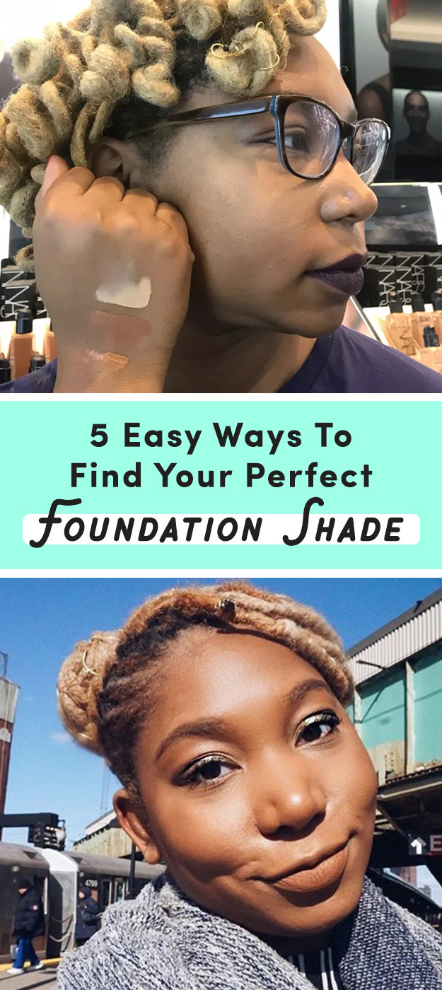 Here Are 5 Foolproof Ways To Find Your Ideal Foundation Shade