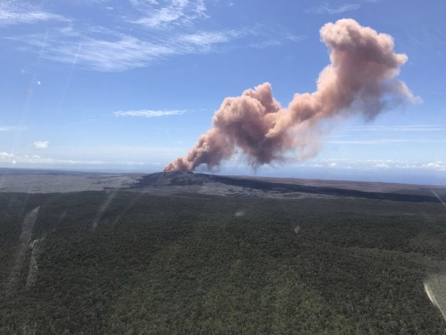 On the Big Island of Hawaii, residents and tourists have been on alert after a volcano crater collapsed and hundreds of small earthquakes have rattled the area, increasing the possibility of an eruption.