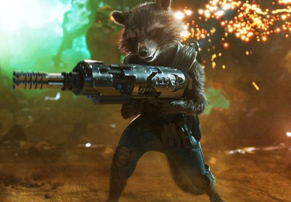 Crystal: Lol, look, I've rated animated lions and deer before, so why the hell not? I weirdly love Rocket, but he's also a raccoon? So, like, ew no?! 1/10Jenna: I wasn't sure about including Rocket, but we may as well go the whole hog. Or rabbit, I should say. Anyway, Rocket is great value but also still very much an animal. I will pass. 1/10Thirst level: 1/10