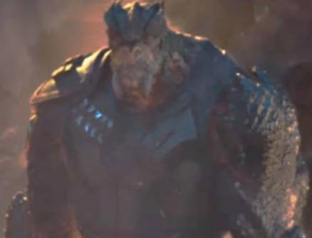 """Crystal: He's clearly """"in shape,"""" but honestly? Not really into the whole giant rock-lizard look of this guy. Also? He'd probably crush me, so like, yeah...no thanks. 1/10Jenna: He's BUILT, but nasty (and not in a good way). Naaaah. 1/10Thirst level: 1/10"""
