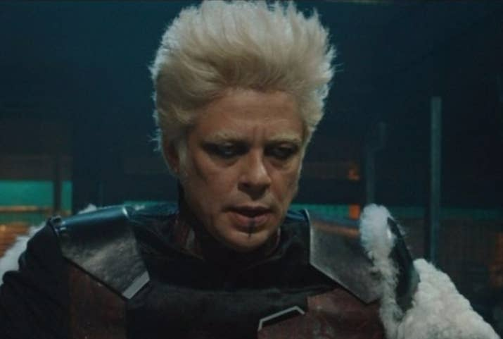 Crystal: I mean, he's not BAD looking (this is Benecio, after all), but there's something about the weird combination of Billy Idol hair and overly eccentric personality that is a turn off for me. It just doesn't work. 2/10Jenna: Not interested in him, his hoarding habits, or his bad dye job. He gives me baaad vibes. 2/10Thirst level: 2/10