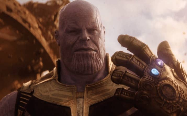 Crystal: I know there are SOME PEOPLE who find Thanos thicc, but please stop. The weird testicle chin and overall evilness are just plain unacceptable. He has good arms, but beyond that. NAH. 1/10Jenna: My gut reaction was HELL FUCKING NO. But then I stopped and checked for...other...reactions. And look, maybe I see it. Maybe. JUST A LITTLE BIT. 3/10Thirst level: 2/10