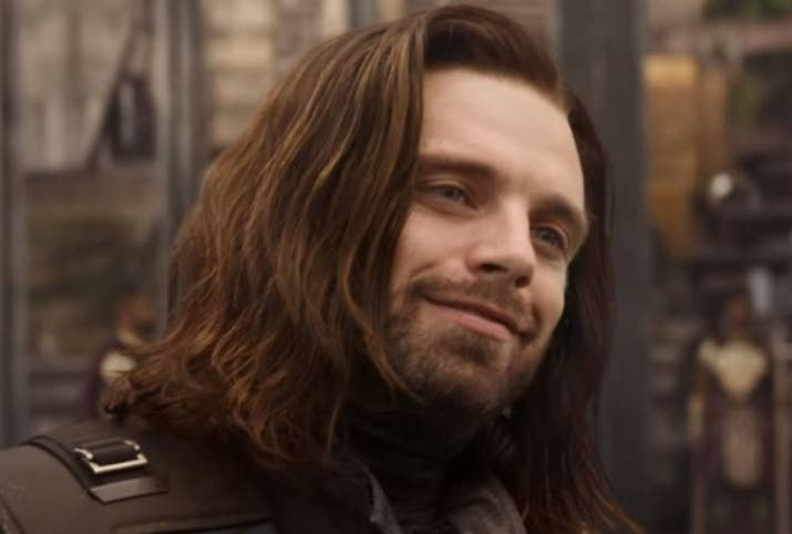 """Crystal: You know, I didn't think Bucky was that hot in The First Avenger, but when he came back in Winter Soldier with that emo AF makeover I was like, """"OH. OKAY. I get it, I see this."""" WTF is it with long, dark hair and a smokey eye that makes a dude hot?! Bonus: you know he could work some pretty AMAZING magic with that super-strong arm of his. 9/10Jenna: World War II Bucky? Yes. Winter Soldier Bucky? Hell yes. White Wolf Bucky? Yes, yes, yes. Just yes. 8.5/10Thirst level: 8.75/10"""