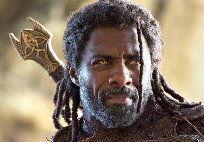 Crystal: Oh, I am definitely here for some Heimdall…HEIMDALL OVER THAT! Anytime, anywhere. My one teeny, tiny complaint would be that he seems like the kind of dude that would put work before anything else. Like, ya know, our PASSIONATE LOVE AFFAIR. 9.5/10Jenna: Maybe it's the giant sword, maybe it's those all-seeing eyes, maybe it's just Idris Fucking Elba, but whatever it is, Heimdall is one sexy-ass guardian. He could pierce all nine of my realms, if ya know what I mean. 9/10Thirst level: 9.25/10