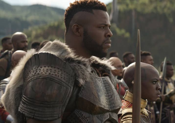 """Crystal: The only actually thicc character in MCU. I didn't come up with the phrase, but that's not going to stop me from using it: """"More like YUM'BAKU, amirite?"""" 9/10Jenna: MmmMMMMmmm'Baku. A fierce warrior, a great leader, a sexy guy. Here for this. 8/10Thirst level: 8.5/10"""