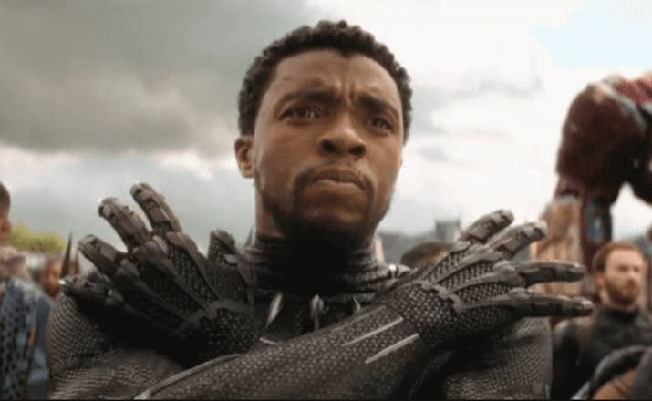 Crystal: T'Challa is a near-perfect human being...he's smart, has ridiculously good looks, and, ya know, is a literal KING?! His only fault is that he's kind of boring? Sorry, but like, Killmonger was WAY more interesting imo. All that said, I doubt there's anyone who could wear a skin-tight nanotech suit quite as magnificently as he does. 8.5/10Jenna: T'Challa is beautiful, sexy, and smart. I love his quiet confidence. And not many people could pull off that suit, but he totally does. I'd like to get my claws into him (or let him get his claws into me???). 8.5/10Thirst level: 8.5/10
