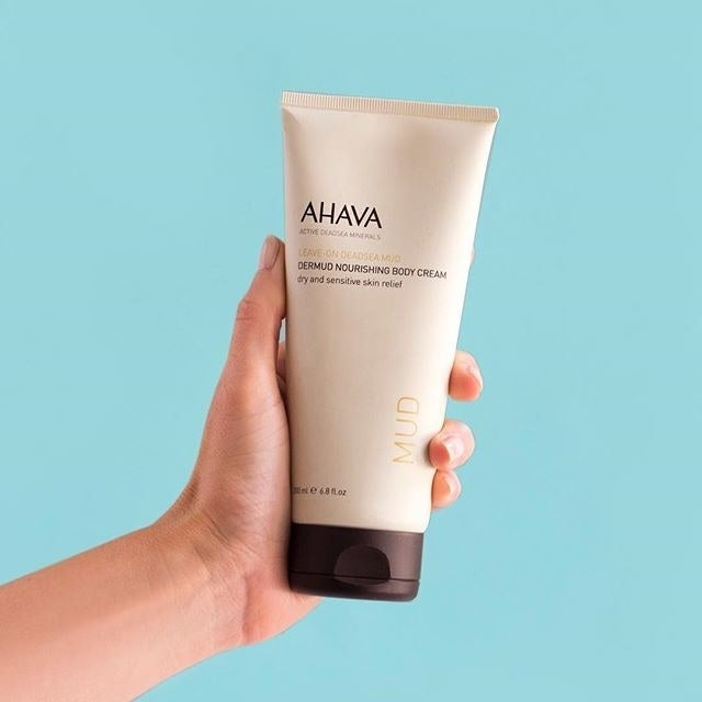 "Promising review: ""I absolutely am obsessed with this body cream! It soaks in quickly, I stay hydrated and can easily get dressed right away without it soaking into my clothing!"" —LisaK Price: $32.87"