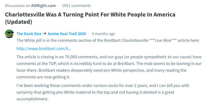 How The Alt-Right Manipulates The Internet's Biggest Commenting Platform