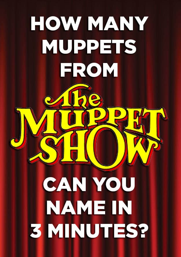 How Many Muppets From