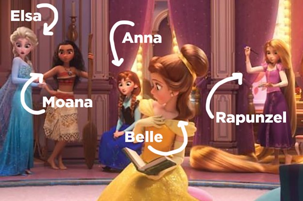 The Disney Princesses Get Together For The First Time In Wreck It