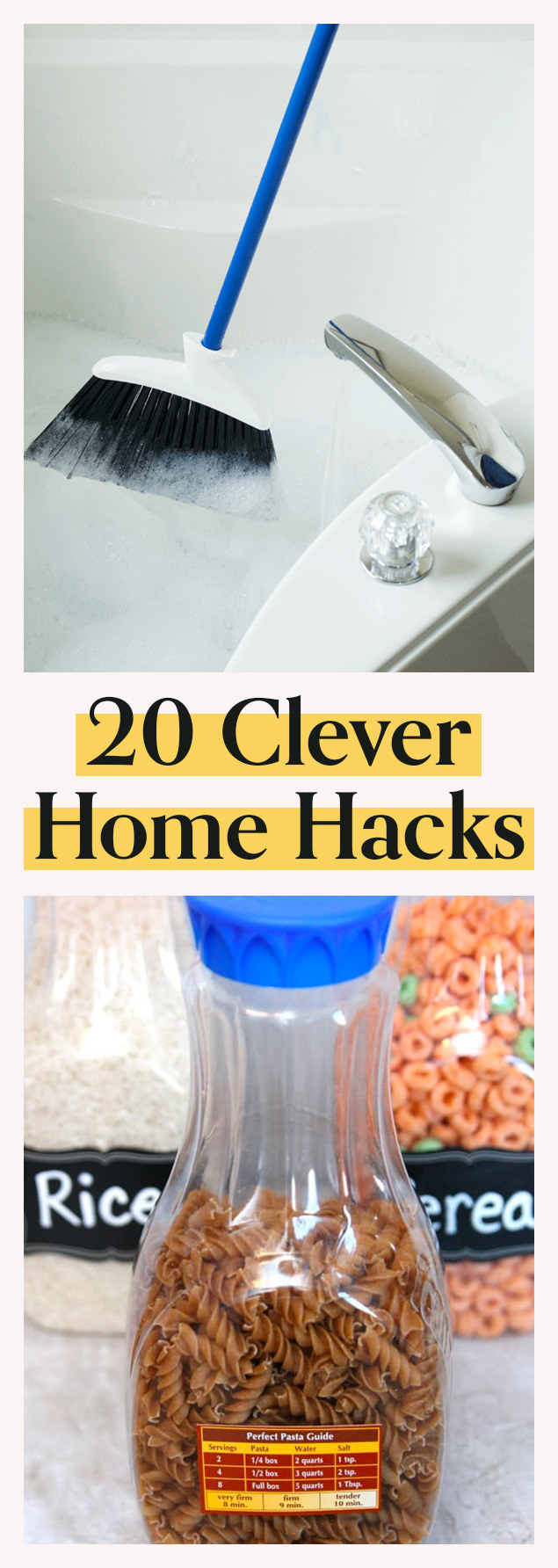 20 Hacks That'll Make Your Home Cleaner And More Organized
