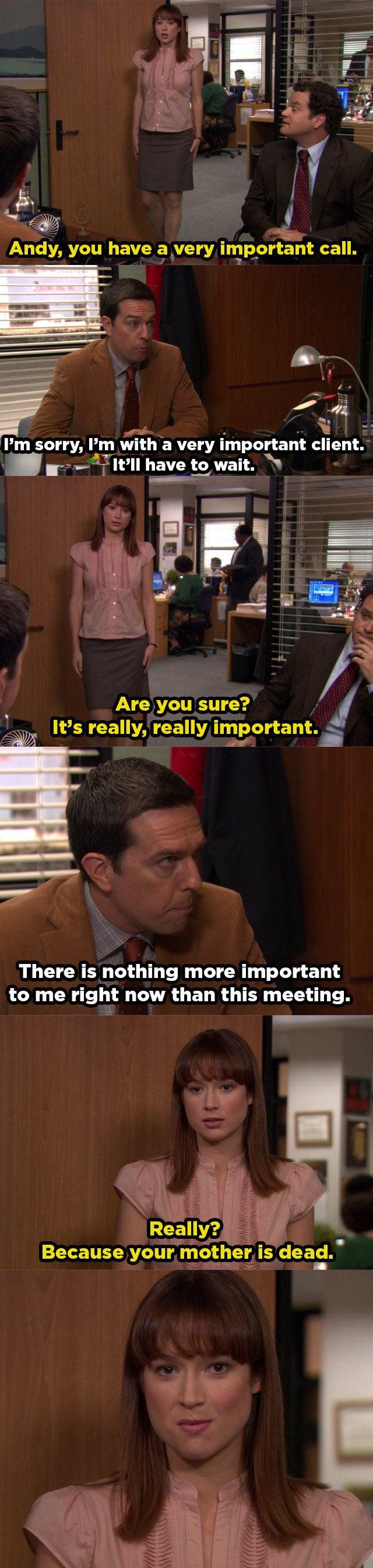 "Episode: Season 8, Episode 7, ""Pam's Replacement"""
