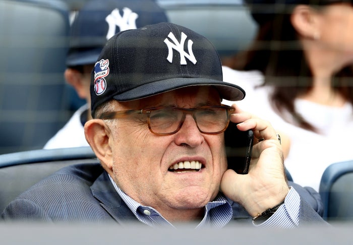Rudy Giuliani, former New York City mayor and current lawyer for President Donald Trump.
