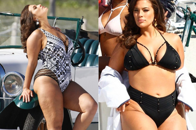 0836c03587c60 Ashley Graham Used Unedited Paparazzi Pics For Her New Swimsuit Campaign  And People Are Living For It