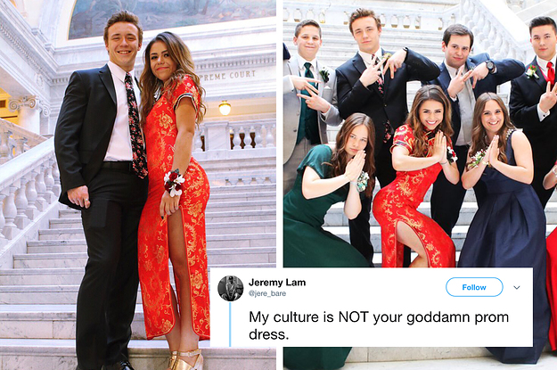 This Teen Wore A Traditional Chinese Dress To Prom And Caused A Huge