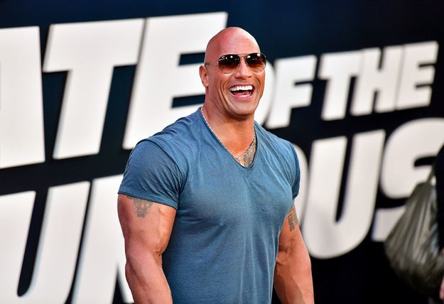 "Now, I know what you're thinking — I saw ""The Rock"" in the headline. Where is my Dwayne Johnson? Well, here's a wonderful photo of him:"