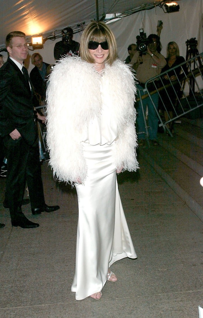 Snow puff, but make it fashion. Christian Dior also helps.