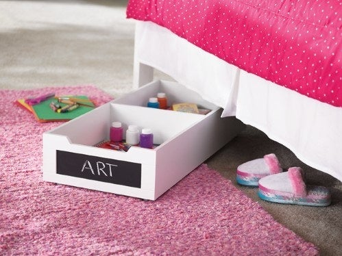 """Promising review: """"This storage is perfect under the bed hiding messes. Rolls out easily for the kids to get to their toys."""" —Katie89Price: $47.26 (originally $75.42)"""