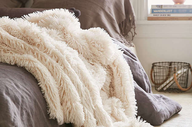 17 Outrageously Cozy Throws To Snuggle Up With
