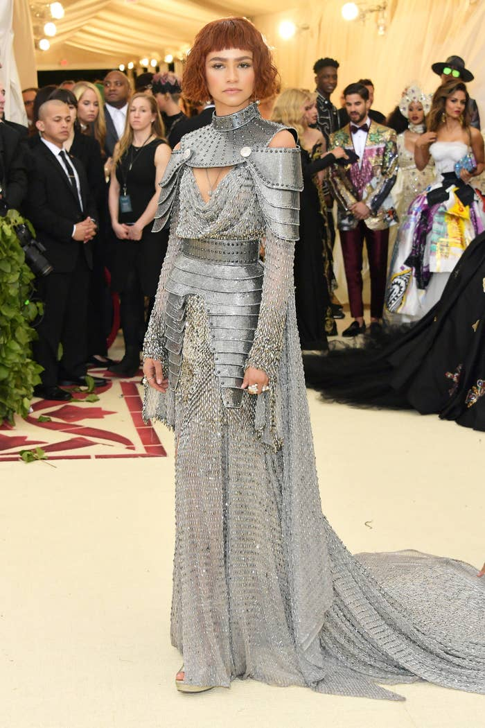 2018 met gala outfits see what the celebrities wore