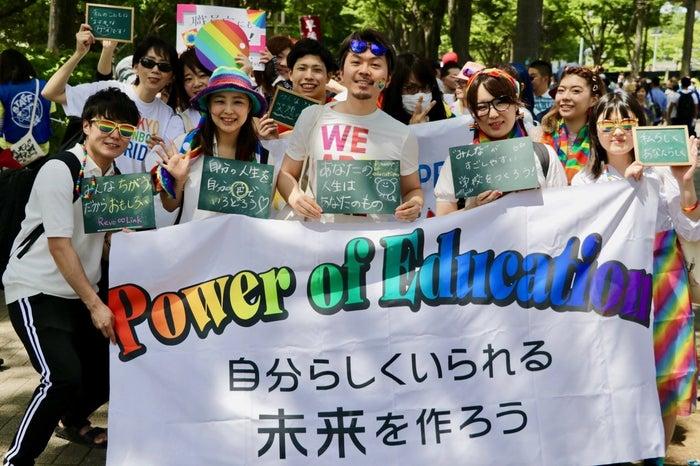 来場者数は、5月5日、6日の2日間でのべ14万人となり、東京レインボープライドとして開催した2012年以降、過去最多となりました。快晴のもと、カラフルな衣装に身を包んだ人たちが会場に集まりました。性別も、国籍も、年齢も、服装も、髪の色も、人それぞれです。