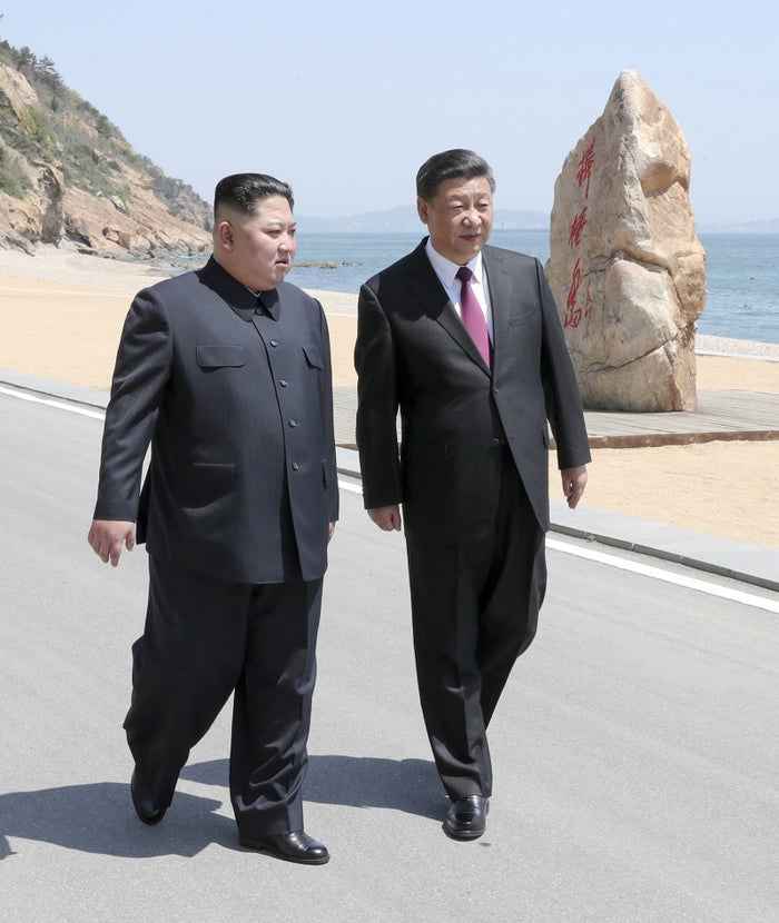 The latest meeting between the two leaders took place in Dalian.