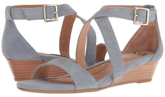 4aafb2ead96 10. A strappy suede wedge that ll be basic enough to pair with lots of  different outfits