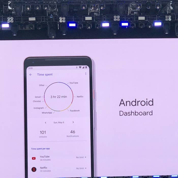 Google Wants To Help You With Your Phone Addiction