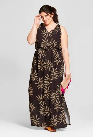 b8fc6884d94 Or a cotton dress that ll look straight out of the jungle.