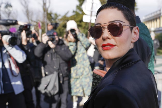 Rose McGowan Said She's Not Confident Harvey Weinstein Will Go To Jail For Alleged Sexual Assaults