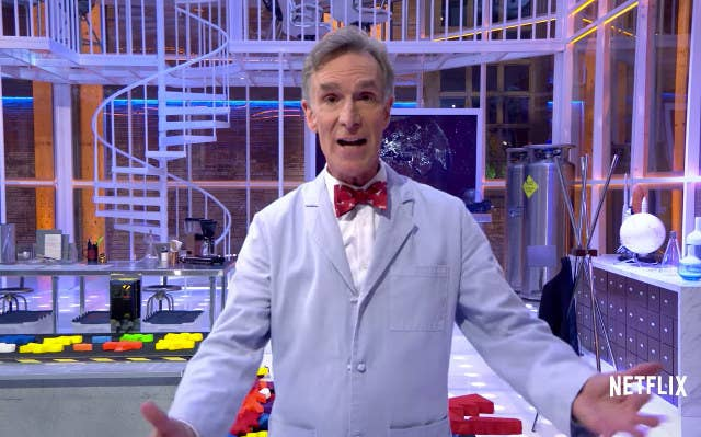 """Emmy-winning host Bill Nye brings experts and famous guests to his lab for a talk show exploring scientific issues that touch our lives."""
