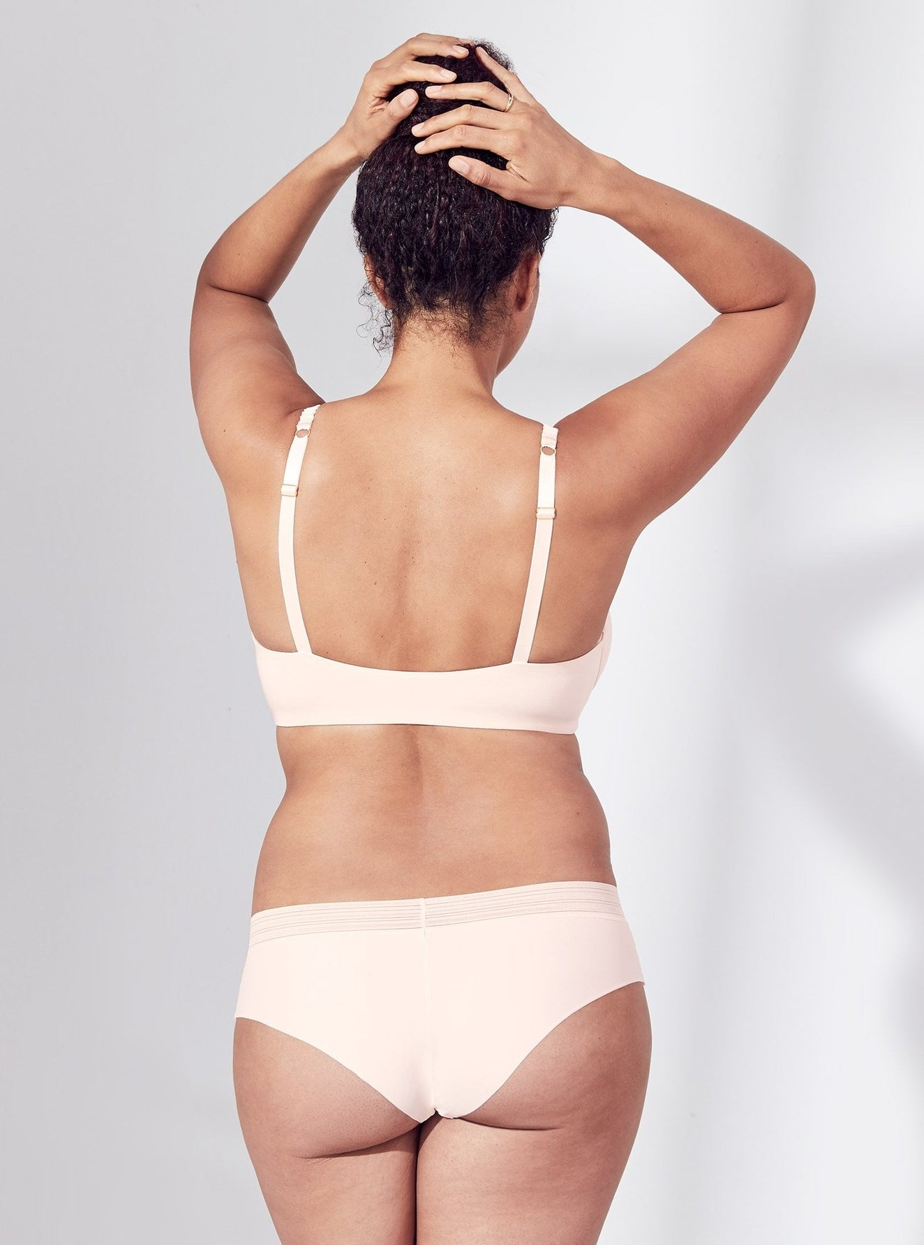 """Promising review: """"These are the most comfortable underwear ever. They never ride up, they don't show lines through any material, they are so smooth and soft, and they don't cut into your hips at all. I've bought six pairs!"""" —Shawna Get them from ThirdLove for $12 (or three pairs for $27, available in sizes XS-XXL and in eight colors)."""